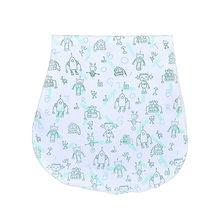 100% Baberos de algodón orgánico ropa de bebé para recién nacidos toallas suaves y absorbentes eructar trapos para recién nacidos regalo de ducha de bebé conjunto(China)