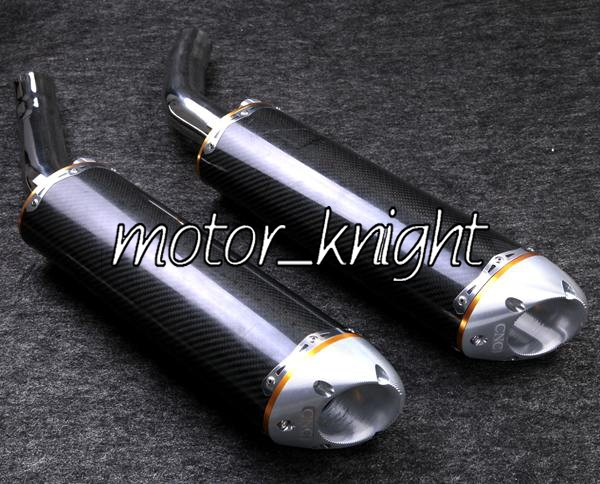 Carbon Fiber Exhaust Muffler Silencer For Yamaha 2004-2006 YZF R1(China (Mainland))