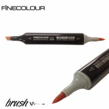 Finecolour EF102 Brush Markers Alcohol Based Sketch Paint Marker Pen Art 36 48 60 72 Colors set-similar copic - GuangZhou BD Trade And Industry Co,.Ltd store