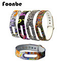 New Product Totem Pattern Replacement Band For Xiaomi 1a 1s Smart Wrist Band Silicone Strap Belt