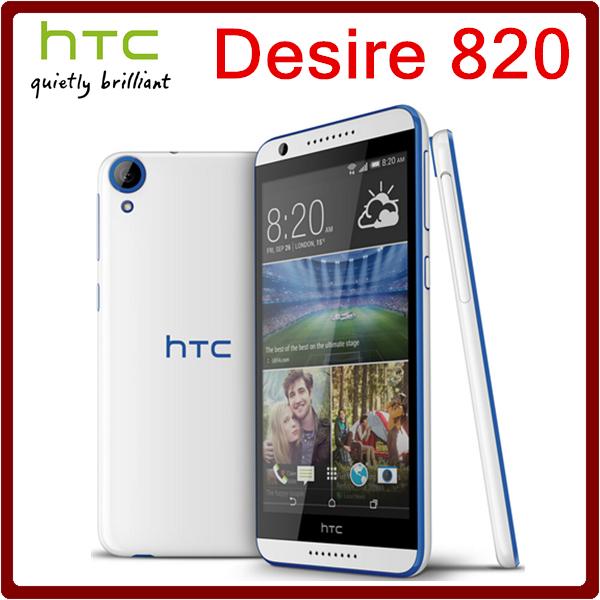 820 первоначально открынный HTC Desire 820 13.0MP 2600 мАч 5.5 дюймов 16 ГБ ROM 2 ГБ 512ram сенсорный отремонтированы мобильный телефон бесплатная доставка
