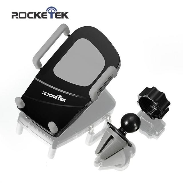 Rocketek 360 Degree Universal Car Holder Air Vent Mount Smartphone Dock Mobile Phone Holder for iPhone 6S 5 Samsung S6 HTC