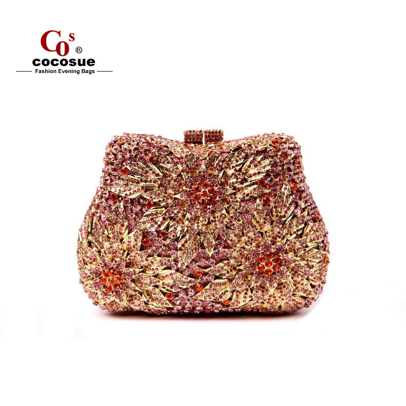 2015 Evening Bags Fashion Women Handbags Famous Brand Designer Floral Shaped Clutches CO1638 - Guangzhou cocosue Co., Ltd. store