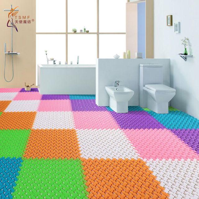 Mosaic Bathroom Floor Mats Non Slip Doormat Door Mat Waterproof Shower Bath In Bath Mats From