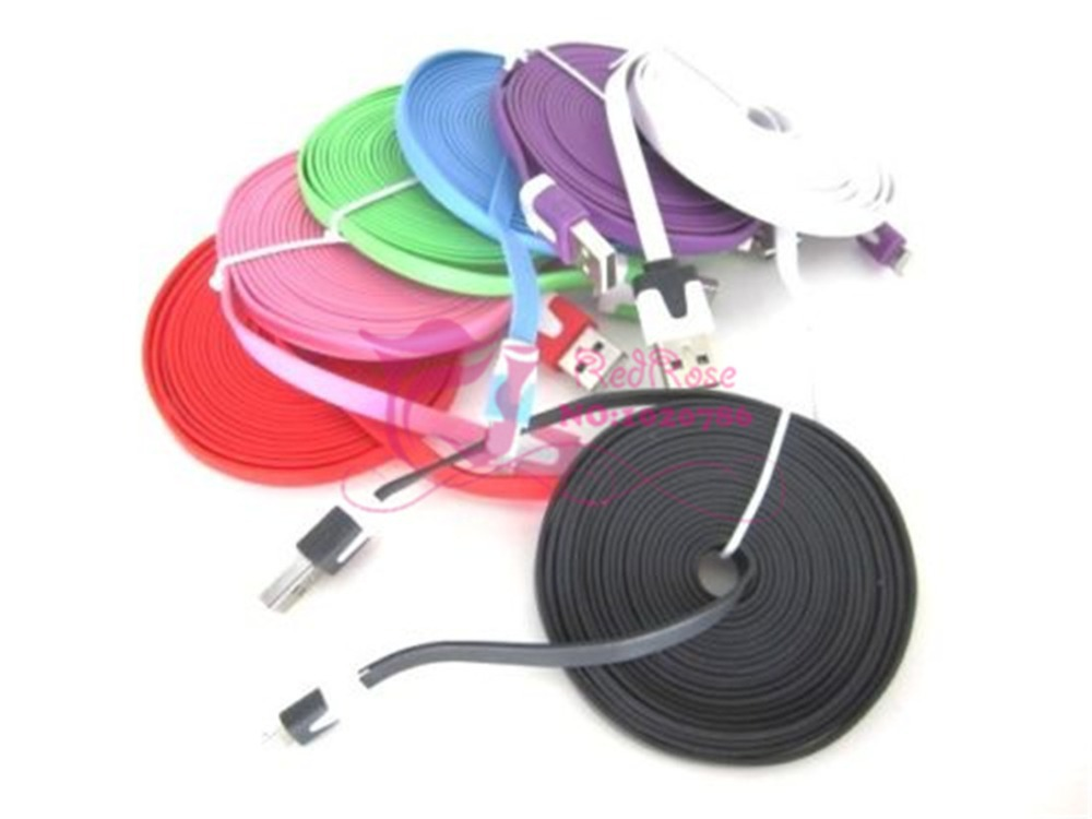 2M Portable Micro USB Charger Sync Data Cable phone cables V8 Samsung Galaxy S4 i9500 Blackberry HTC - RedRose store