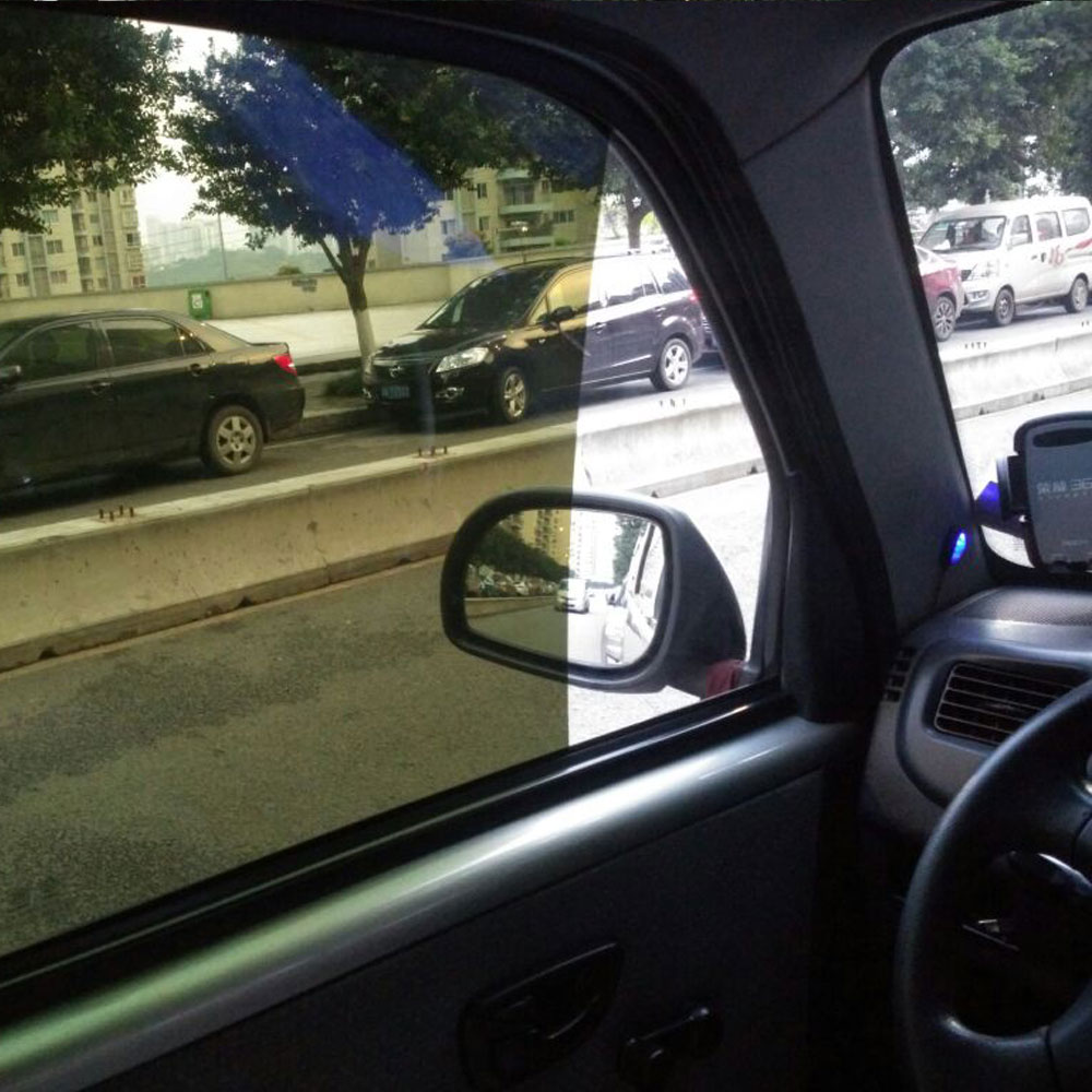120″X20″ Green Car Window Foils Tint Film Side Glass window film Solar Protection Summer sticker Insulation Window Protect