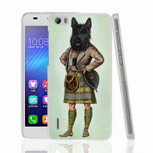 22909 Scottie Dog font b Kilt b font scottish terrier Animal cell phone Cover and Case
