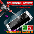 For Samsung Galaxy S5 safety Tempered Glass Thin HD Clear Screen Protector Film I9600 mobile phone