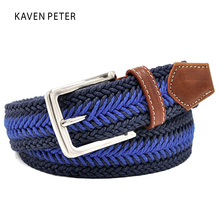 Buy Men Braided Belt Casual Style Fish Bone Pattern Men's Golf Braided Belts Wax Rope Material Mixed Color 100 cm to160cm for $8.51 in AliExpress store