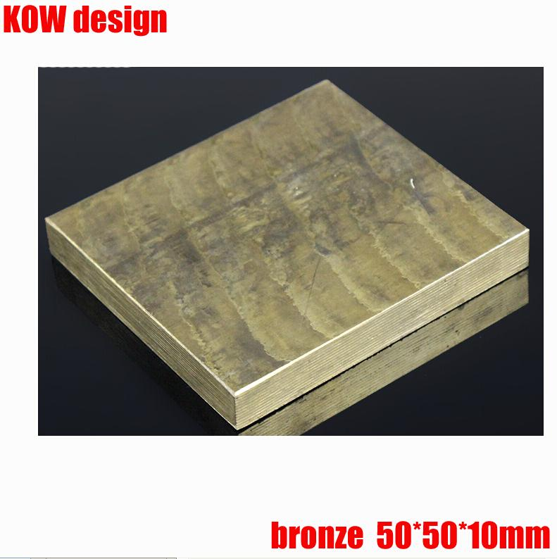 Knife DIY material  bronze block plate 50*50*10mm , accept cutting other size <br><br>Aliexpress