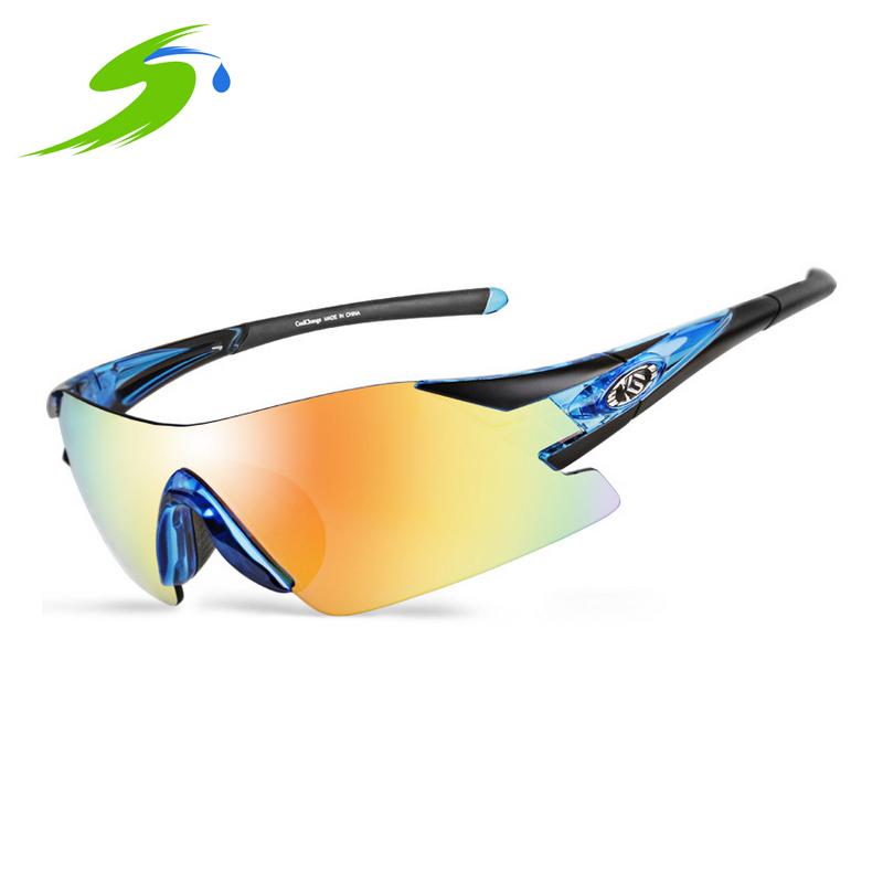 Outdoor Sports Cycling Eyewear UV400 Polarized Cycling Glasses Casual Mountain Bike Glasses Sunglasses Gafas Cicismo Si063