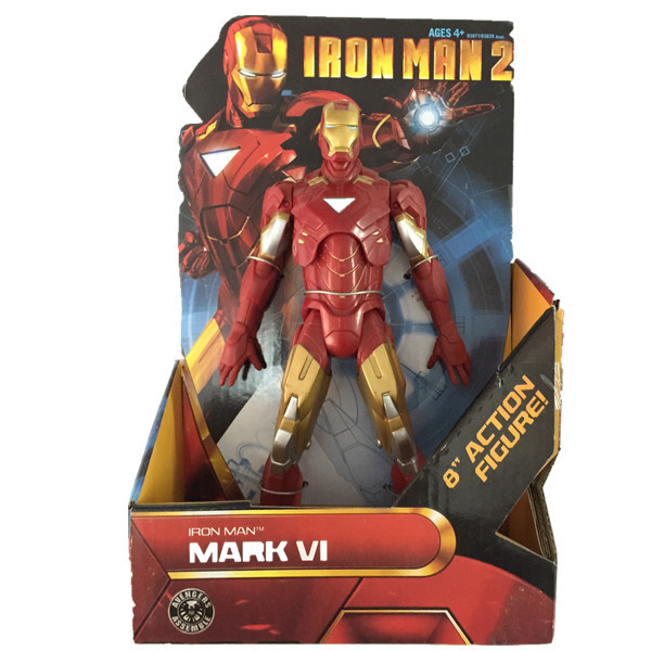 Avengers Iron Man +The Hulk+Captain America+Thor Action Figures Movable Model Brinquedos Doll Toys Children Kids Retail - Future Star Trading Co.,Ltd store