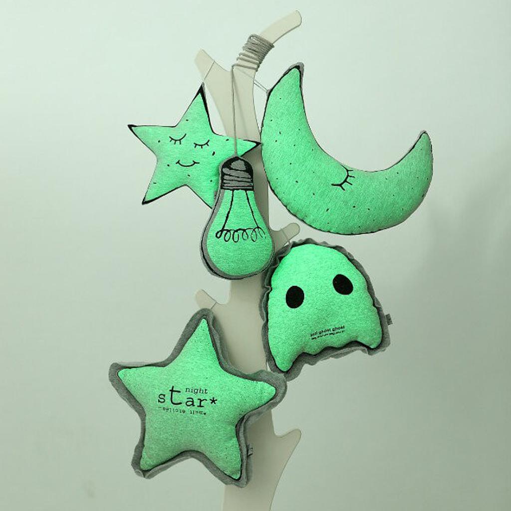 Светящаяся Маленькая Звезда Подушка Детское стеганое одеяло игрушка для декора Luminous Little Star Cushion Baby Comforter Toy Home Decor Glow In The Dark