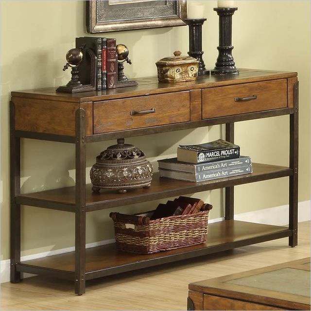 European American wood furniture , wrought iron entrance door Cabinet  Office entrance vestibule wood table table