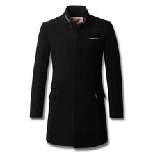 2015 Hot Sale Top Fashion Single Breasted No Half Casaco Masculino Overcoat Men's Coat Fashionable Coats F-man One Generation(China (Mainland))