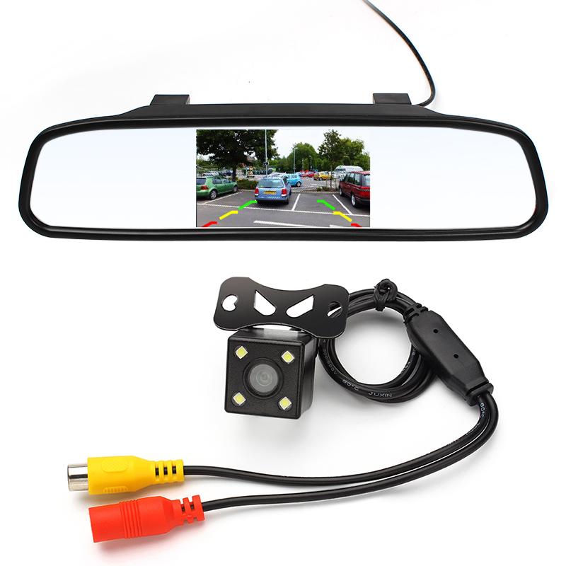 Зеркало с монитором для камеры заднего вида на алиэкспресс