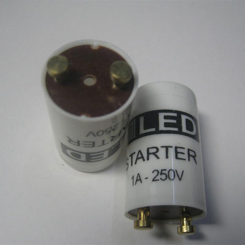 5pcs/lot LED starter Only use LED tube protection 250V/1A change fluorescent tube to led tube inductance ballast remove Starter(China (Mainland))