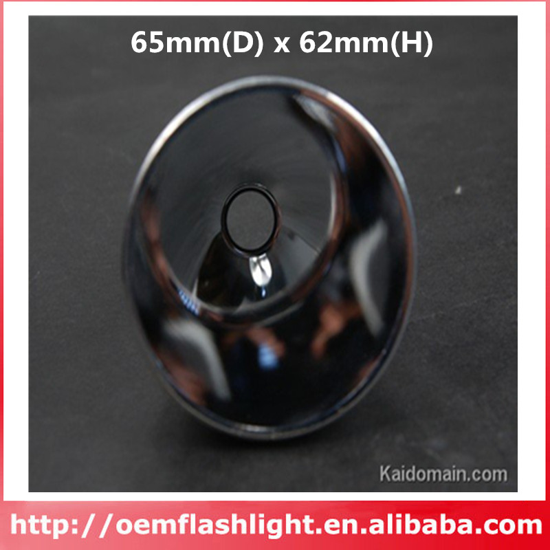 65mm(D) x 62mm(H) SMO Aluminum Reflector for SST-90(China (Mainland))