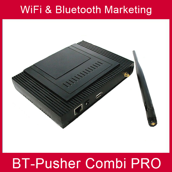BT-Pusher wifi bluetooth mobiles proximity marketing device COMBI PRO(advertising product ) WITH car charger(China (Mainland))