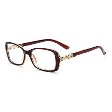 Fashion Colorful Eyewear Optical Eyeglasses for Women Spectacles with 7 Optional Colors Free Assembly for Glasses frame and lens