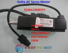 Buy Delta AC Servo Motor AB Series ECMA-C30401ES 40mm 220V 3000rpm keyway 100W 0.1KW New for $238.00 in AliExpress store