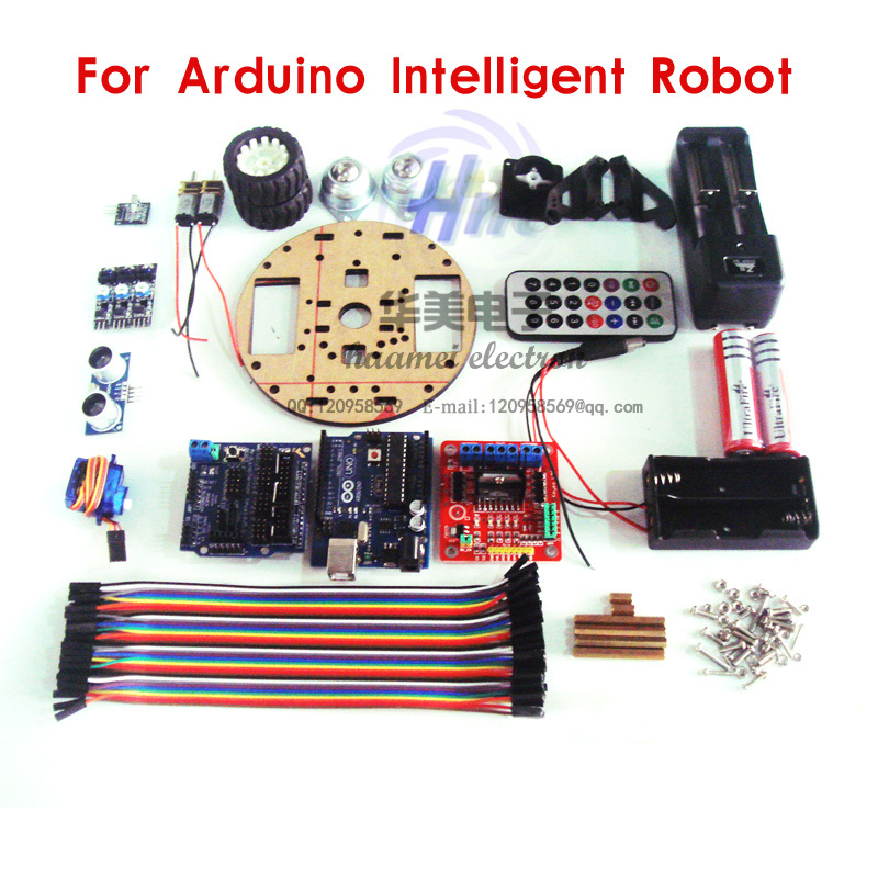 Atmega p wd intelligent small robot turtle assembly