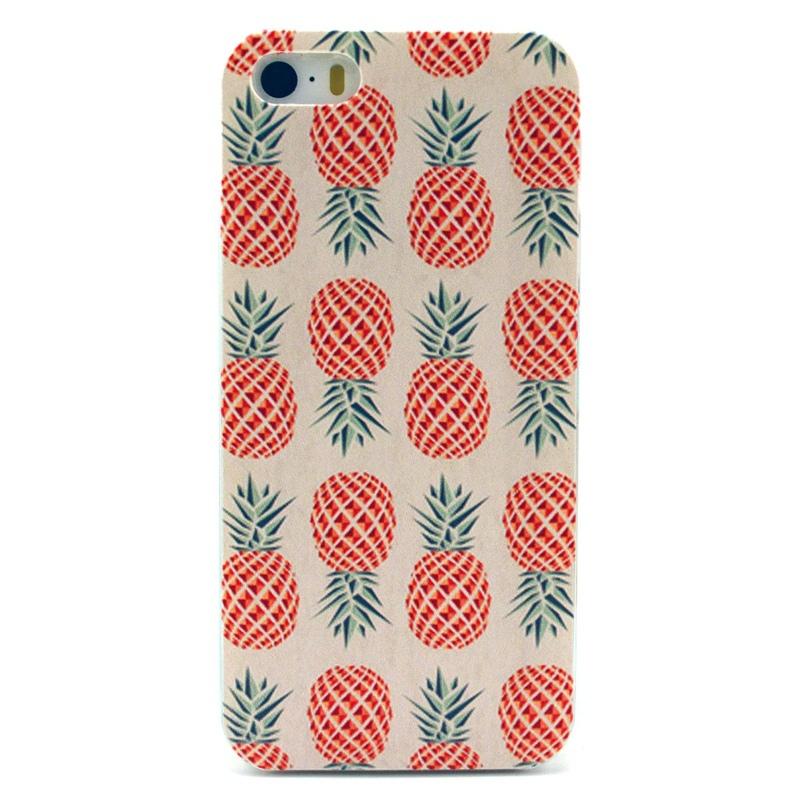 YuJing Pineapple Fruit Vintage Printed Hard Mobile Phone Case iPhone 4 4S 5 5S 5c Capa Cover - Shenzhen OEM CASE Co., Ltd store