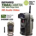Free Shipping Ltl Acorn 6310WMG 12MP 940NM No Glow HD 1080P 100 Degree Lens MMS GPRS