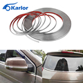 3M Car Styling Chrome Decor Strip Moulding Styling Trim Sticker 6MM 8MM 10MM 12MM 15MM 18MM