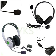 Live Big Headset Headphone With Microphone for XBOX 360 Xbox360 Slim NEW free shipping Eletronic Hot