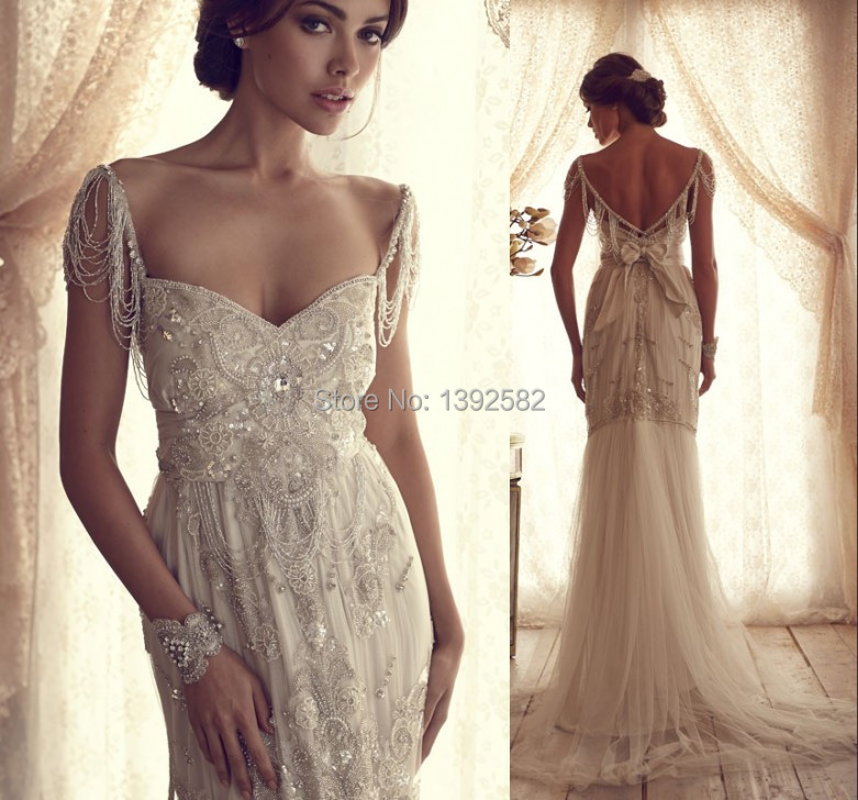 Luxury sweetheart mermaid wedding dress crystal beades for Wedding dress in dubai