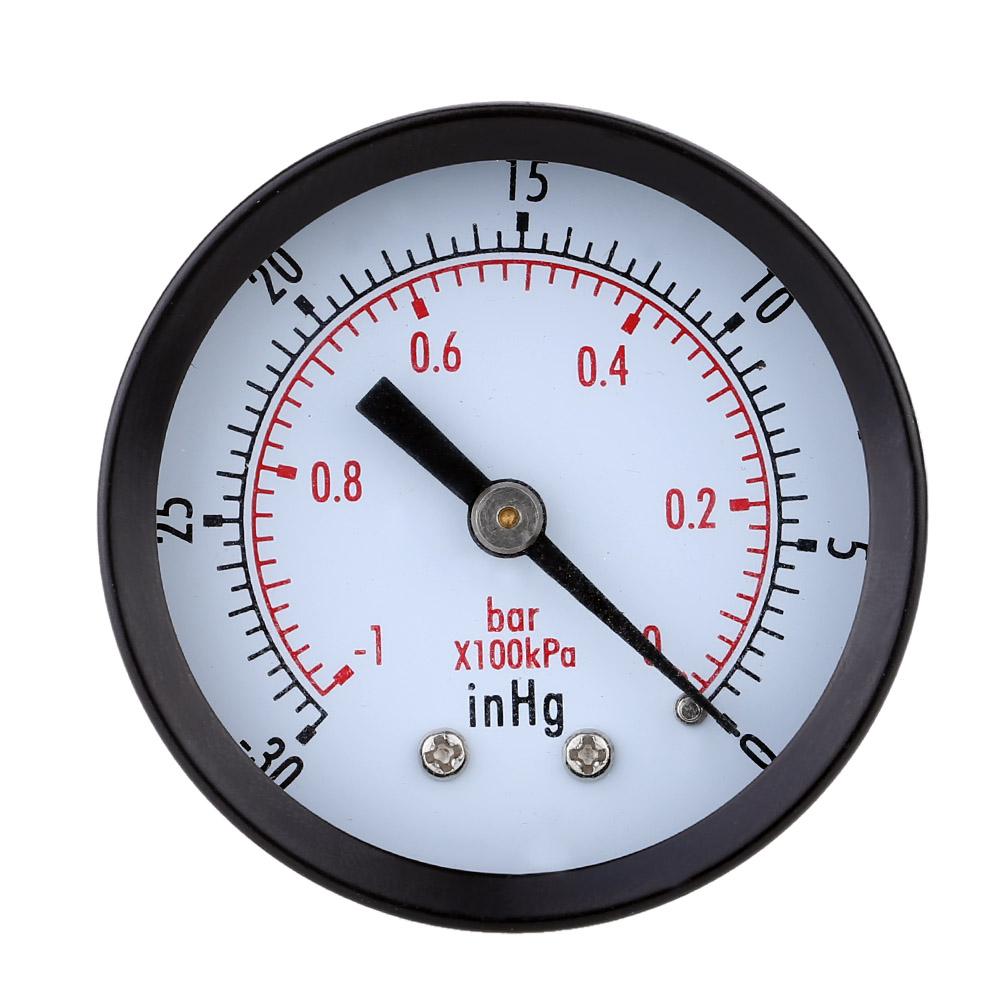 Great Double Scale Vacuum Manometer Mini Dial Air Vacuum Pressure Gauge Meter High QualityStable Performance Pressure Gage(China (Mainland))