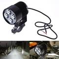 DC12V 85V 20W LED Headlight Waterproof Handlebar Light Universal Lamp for Motorcycle E bike for Honda