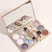 Make up brand 16 colors eye shadow glitter of diamonds eyeshadow palette professional makeup kit cosmetic maquiagem beauty(China (Mainland))