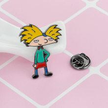 Smalto Spille Distintivo Bottoni Spilla Cartone Animato Icone di Stile del Anime di Amanti Della Camicia Risvolto Spille Dropshi Spille g(China)