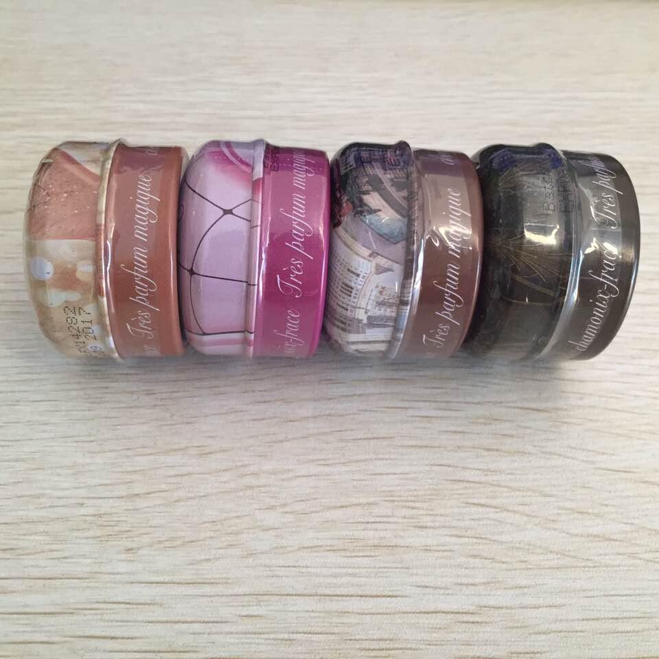 4pcs/lot 2015 Hot Perfumes and Fragrances of Brand Originals,eau de parfum importados,Solid Perfume/Parfum Brand for women men(China (Mainland))