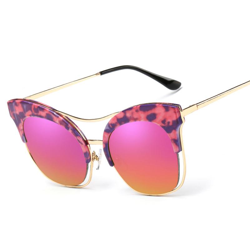 2016 new fashion sunglasses for cat eye brand