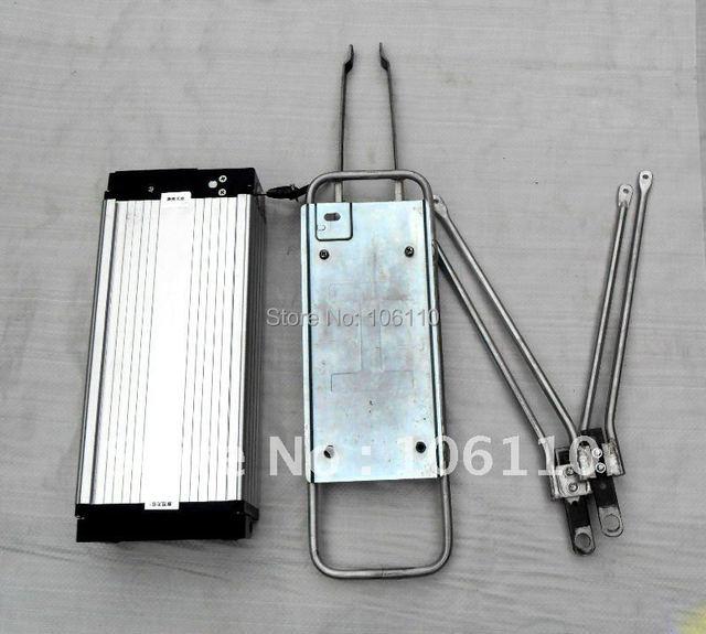 Free shipping! 36v10ah lifepo4 battery+high power 36v500w ebike conversion kits + led display+disc brake