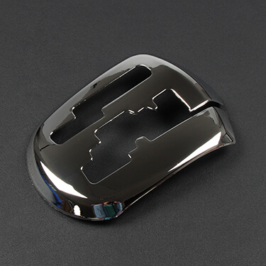 For KIA RIO K2 ABS chrome trim MT/AT gear stick shift car special post plating decoration model car accessories(China (Mainland))