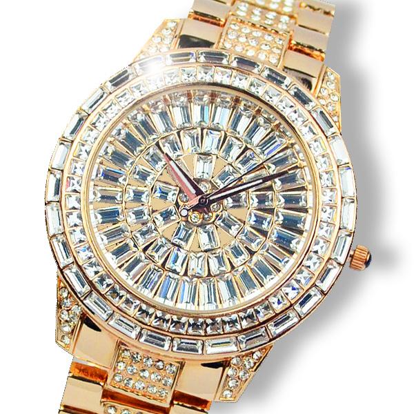 Swaymond diamond ladies watch full rhinestone bling rhinestone large dial Women watch 1166<br><br>Aliexpress
