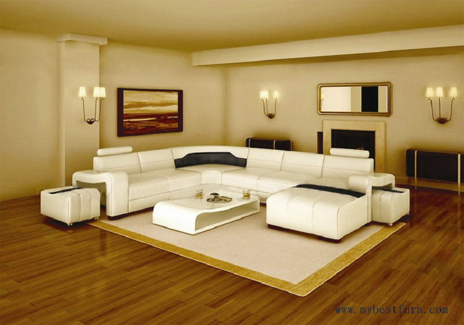 Buy My Bestfurn Sofa Modern Design Best Living Room Furniture White Leather