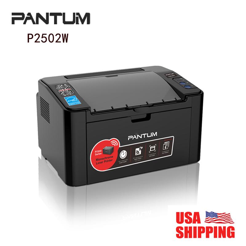 Wholesale Price Pantum Wireless Laser Printer P2502W 22 ppm (A4) Monochrome Hi-Speed USB 802.11b/g/n Office Home(China (Mainland))
