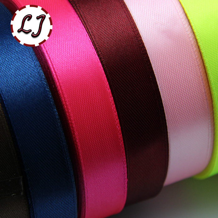 Satin Ribbon 15mm 0 6in 25Yards Wedding Silk Ribbon Party Decoration Satin Tapes Crafts Decor Invitation