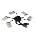 RC Quadcopter 5 in 1 Syma X5C X5SW X5SC X5 Lipo Battery USB Charger 5 Pcs