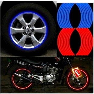 Car Styling Auto Reflective Tape Decal Automobiles Motorcycles Roadway Safety Exterior Decoration Products Supplies Accessories(China (Mainland))