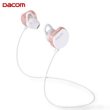 Buy DACOM Bluetooth Earphone Stereo Genuine Dacom i7 PK QY19 Headphons Bluetooth 4.1 Headset Wireless Sports Music Earbuds Mic for $19.11 in AliExpress store