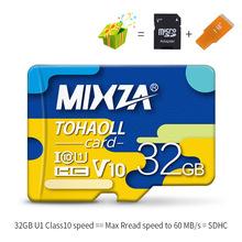 Cartão De Memória de 256 gb 128 gb gb U3 64 MIXZA 80 mb/s Class10 UHS-1 32 gb cartão Micro sd flash cartão de Memória Microsd TF/Cartões SD para Tablet(China)