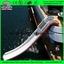 Hot selling 14.7ft long Inflatable Water Slide For Yachts(China (Mainland))