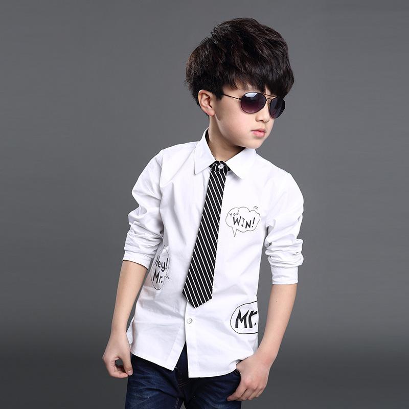 Рубашка для мальчиков 2016 KU577