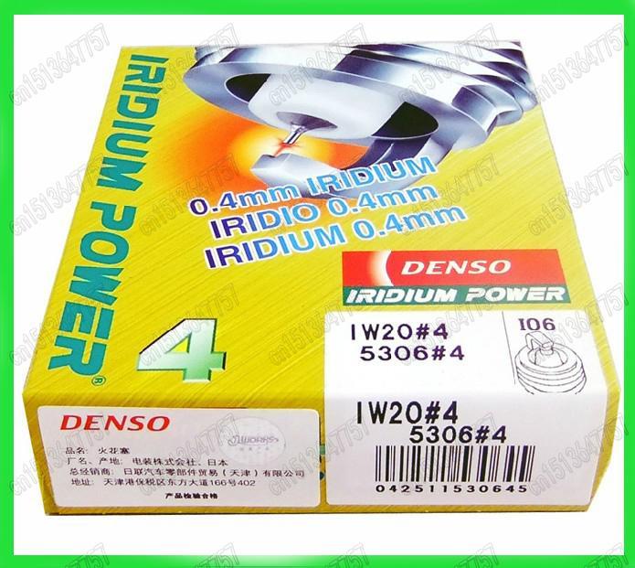 4PCS/LOT DENSO IRIDIUM POWER Spark Plugs IW20 5306 MADE IN JAPAN<br><br>Aliexpress